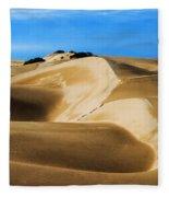 Oceano Sand Dunes Fleece Blanket