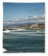 Oceanside Fleece Blanket