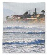 Oceanside California Fleece Blanket