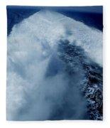 Oceon Waves Denmark Fleece Blanket