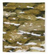 Ocoee River Fleece Blanket