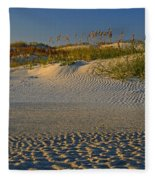 Ocracoke Dunes Fleece Blanket