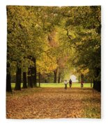 October Fleece Blanket