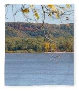 October Bluffs Fleece Blanket