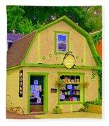 Octopus Bookstore 3rd Ave Bank Street Nepean The Glebe Paintings Of Ottawa Carole Spandau  Fleece Blanket