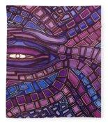 Octopus Eye Fleece Blanket