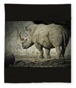 Odd-toed Rhino Fleece Blanket