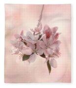 Ode To Spring Fleece Blanket