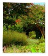 Of Earthly Delights Fleece Blanket