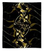 Of Golden Waves Fleece Blanket