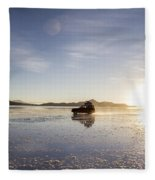 Off Road Uyuni Salt Flat Tour Fleece Blanket