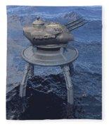 Offshore Turret Fleece Blanket