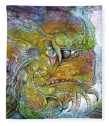 Offspring Of Tiamat - The Fomorii Union Fleece Blanket