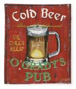 O'grady's Pub Fleece Blanket