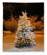 Oh Christmas Tree Fleece Blanket