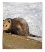 Oh Possum Fleece Blanket