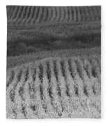 Ohio Cornfield Fleece Blanket