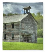 Ohio Schoolhouse Fleece Blanket