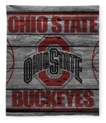 Ohio State Buckeyes Fleece Blanket