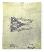 Ohio State Flag Design Fleece Blanket