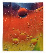 Oil And Water Fleece Blanket