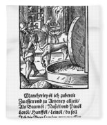 Oil Press, 1568 Fleece Blanket