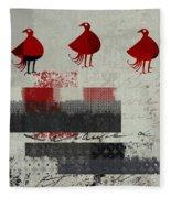 Oiselot - J106164161-2t1b Fleece Blanket
