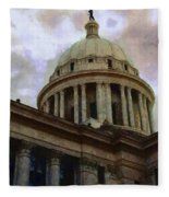 Oklahoma Capital Fleece Blanket