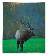 Okonoluftee Elk Fleece Blanket