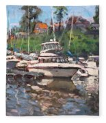 Olcott Yacht Club Fleece Blanket