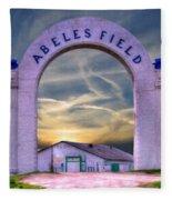Old Abeles Field - Leavenworth Kansas Fleece Blanket