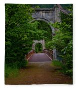 Old Alexandra Bridge Fleece Blanket