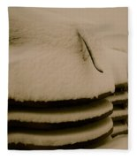 Old And Cold Fleece Blanket