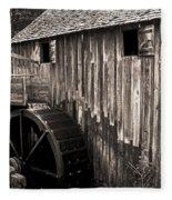 Old Appalachian Mill Fleece Blanket