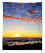 Old A's Panorama Fleece Blanket