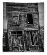 Old Bodie Building Fleece Blanket