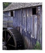 Old Cades Cove Mill Fleece Blanket