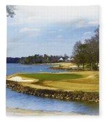 Old Carolina Golf Club Fleece Blanket
