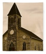 Old Church Fleece Blanket