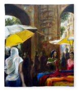 Old City Ahmedabad Series 8 Fleece Blanket