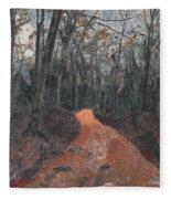 Old Connecticut Path Fleece Blanket