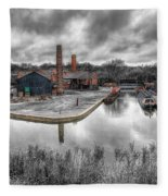 Old Dock Fleece Blanket