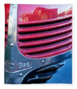 Old Dodge Truck Fleece Blanket