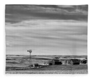 Old Farm - Baseline Road - Waterville - Waterville - Washington - May 2013 Fleece Blanket