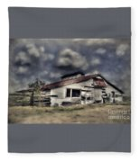 Old Farm Fleece Blanket