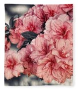 Old Fashion Azalea Fleece Blanket