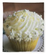 Old Fashioned Lemon Cupcake Fleece Blanket