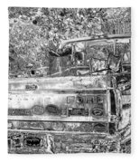 Old Ford Fleece Blanket