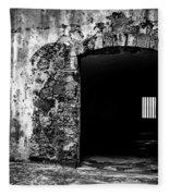 Old Fort Passway Fleece Blanket