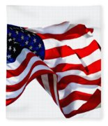 America The Beautiful Usa Fleece Blanket